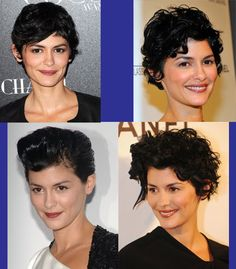 Growing pixie with curly hair...at least now I have ideas!!