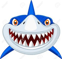 Illustration about Illustration of Shark head cartoon. Illustration of deep, colorful, fear - 39167631 Shark Mask, Shark Head, Shark Mouth, Monster Mask, Cartoon Fish, Doll Face, Clipart, Royalty Free Images, Vector Free