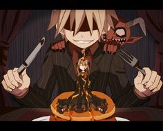 D-d-don't eat her soul! Little demon, you little shit! All Anime, Me Me Me Anime, Soul Eater Evans, Soul And Maka, Cartoon Tv, Dark Souls, Anime Shows, Illustration Art, Illustrations