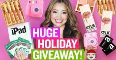 HUGE Holiday GIVEAWAY! (iPad, Kylie Makeup, Instax Mini 9)