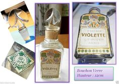 Violette is  shown over the years in several versions.I have the pretty box also.