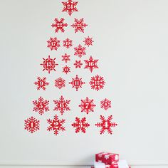 Christmas Tree Advent Wall Sticker: Add or remove one a day in the lead up to Christmas. And then use again next year.