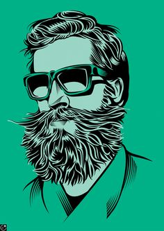 Bearded Guy by Yann Legendre for The Wall Street Journal