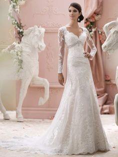 Die Mon Cheri Brautkleider Kollektion 2016 von David Tutera auf Deutschlands größter Brautkleider-Galerie - hier findet Braut die schönsten Looks der Saison