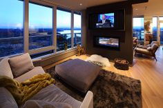 Who needs a T.V. when you have a view like this one? Coldwell Banker BAIN Bellevue, WA $2,388,000