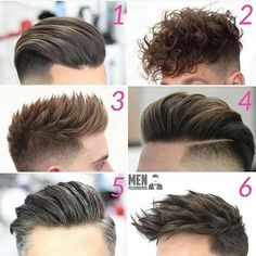 Hair styles Which do you prefer?  Follow @stylemensbr   #Hair #Haircut #Hairstyle #Menslook #Mensstyle #Mensgrooming #Barbergang #Barberlove #Barberworld #Barberlife #TheBarberpost #BarbershopConnect #Barbersinctv #Barbers #Coolhair #Barber #Barbershop #Quiff #Peluqueria #Pompadour #Undercut #Kapper #Cutoftheday #Barberporn #Mensfashion #Barbering #Skinfade #Menshairstyle #Menshaircut