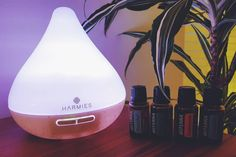 Loving our new essential oil diffuser from @harmiesltd experimenting tonight with a mix of peppermint and frankincense @doterra creating a spa like atmosphere at home... Heaven!