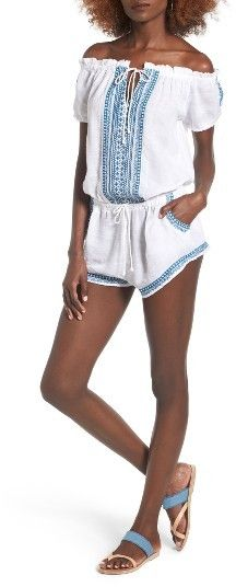 Women's Rip Curl Far Out Off The Shoulder Romper