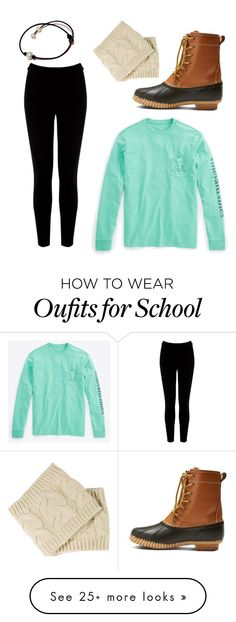 """""""Perfect for school!"""" by melissagoolsby on Polyvore featuring Warehouse, Merona and Vineyard Vines"""