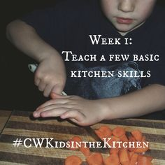 Wouldn't it be nice to have a little help in the kitchen? Why not put those little ones to work? While initially, your kitchen helpers may add more of a challenge to your meal prep routine, if you can hang in there, you'll eventually reap the benefits of teaching your kids to cook - extra help in the kitchen and lifelong kitchen skills for your children.