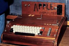 Apple 1, the very first Apple computer designed by Wozniak.