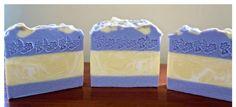 Lemon & Lavender scented goats milk soap,cold process