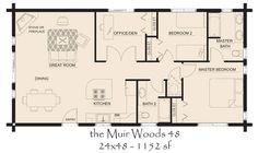 Cabin ideas on pinterest house plans floor plans and for L shaped log cabin floor plans