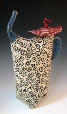 Grandmother never told me about this teapot. - Alice DeLisle designer