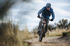 Club Ride Apparel Fall Winter 2015 Daniel Flannel and Shift Jean in Charcoal Mountain Biking Sun Valley Idaho