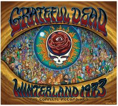 GRATEFUL DEAD CDS | Emek Grateful Dead Album Cover Art | The Painted Note Gallery