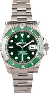 Rolex - Submariner Green Dial Steel 11610LV - Save $1,000