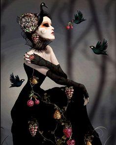 Lunatica Desnuda: The Provocative and Amazingly Beautiful Digital Art of Natalie Shau