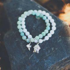 Buddha bracelet.