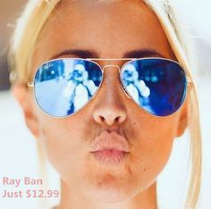 #RayBan sunglasses. They are really cheap and nice. Just click here and make your life more better.