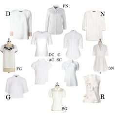 Essential white blouse for Kibbe types