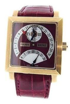 3db584c994a Ladies Pierre Kunz Spirit Of Challenge 18k Rg Retrograde Seconds-date  Watch. Get the