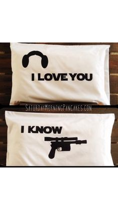 $30.00 Star Wars pillow cases from Saturday Morning Pancakes shop on Etsy