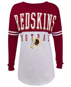 Women's Washington Redskins Nike Burgundy Fan Top V-Neck T-Shirt