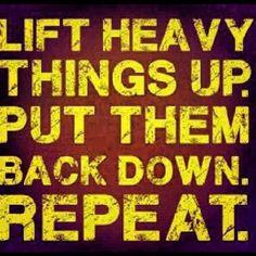 Fitness Inspiration #liftheavy