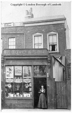 087d0c1fd59 The advertisements in the shop · Brixton HillSouth LondonOld ...