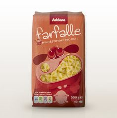Packaging of the World: Creative Package Design Archive and Gallery: Adriana Mini-Pasta