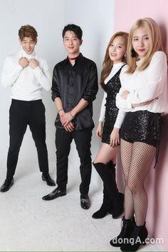 BM, J.Seph, Somin and Jiwoo