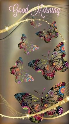 Gold and Colorful Butterfly Wallpaper Flower Phone Wallpaper, Cellphone Wallpaper, Galaxy Wallpaper, Screen Wallpaper, Wallpaper Backgrounds, Iphone Wallpaper, Glitter Wallpaper, Butterfly Pictures, Butterfly Art