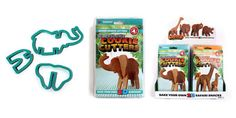Amazing cookie cutters for kids. Get them baking and having fun at the same time. Make safari animal cookies. Design by SUCK UK Cookie Dough, Cookie Cutters, Animal Body Parts, Cut Out Cookies, Safari Animals, Cool Kids, Have Fun, Elephant, 3d