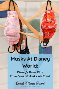 Finding a comfortable mask for Disney World and understanding Disney World's mask policy is important when planning your next trip.