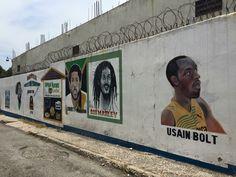 Graffiti mural in Jamaica