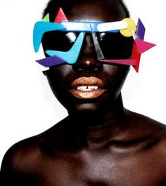 Mercura NYC POP Art Sunglasses (design by Rachel Cohen-Lunning and Merrilee Lichtenstein Cohen)