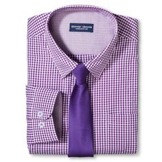 Graham & Graham Boys' Shirt/Tie Set - Purple