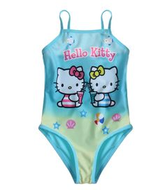 Elipcis | why pay more - Hello Kitty Swimsuit  Turquoise |  Beach  , £9.95 (http://www.elipcis.com/hello-kitty-swimsuit-turquoise-beach/)