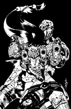JASON PEARSON  SUICIDE SQUAD  HARLEY QUINN DEADSHOT SHIRT Comic Art