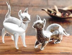 Roost Cat Salt & Pepper Shakers