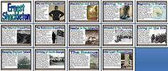 Geography KS2 Resources -  Biography of Explorer Ernest Shackleton