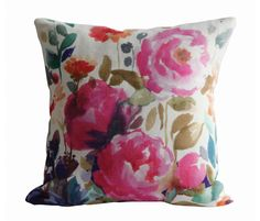 Peony Pillow by Bluebellgray