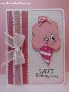 The Cricut Bug: Cotton Candy Birthday