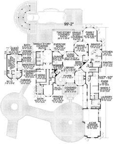 Mediterranean Style House Plan 7 Beds 9 50 Baths 11027 Sq Ft
