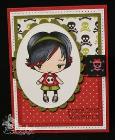 Peace, Love, and Vampires... by pinkgirl76 - Cards and Paper Crafts at Splitcoaststampers