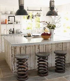 Creative Modern Kitchen Island With Seating Design