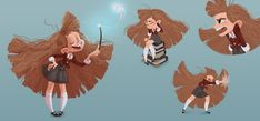 ArtStation - Hermione Granger, Lidia Macov
