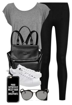 """Style #10083"" by vany-alvarado ❤ liked on Polyvore featuring Donna Karan, Givenchy, Christian Dior, adidas Originals and Casetify"