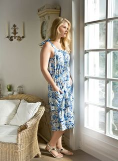 BURDA - Sundress with Pockets (Plus Size) 05/2015 #132